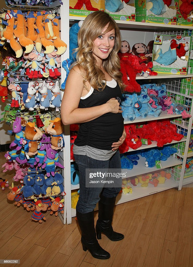 Actress Marcy Rylan shops at Buy Buy Baby on April 20, 2009 in New York City.