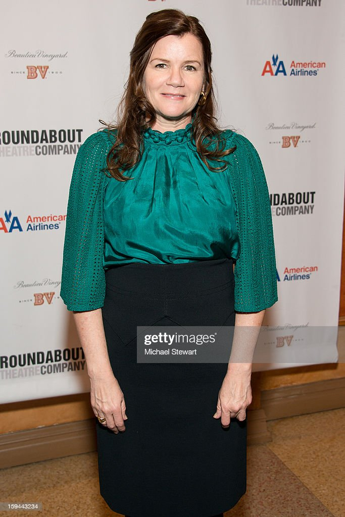 Actress Mare Winningham attends 'Picnic' Broadway Opening Night at American Airlines Theatre on January 13, 2013 in New York City.