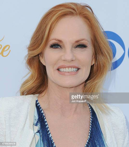 Actress Marg Helgenberger arrives at CBS Television Studios 3rd Annual Summer Soiree Party at The London Hotel on May 18 2015 in West Hollywood...
