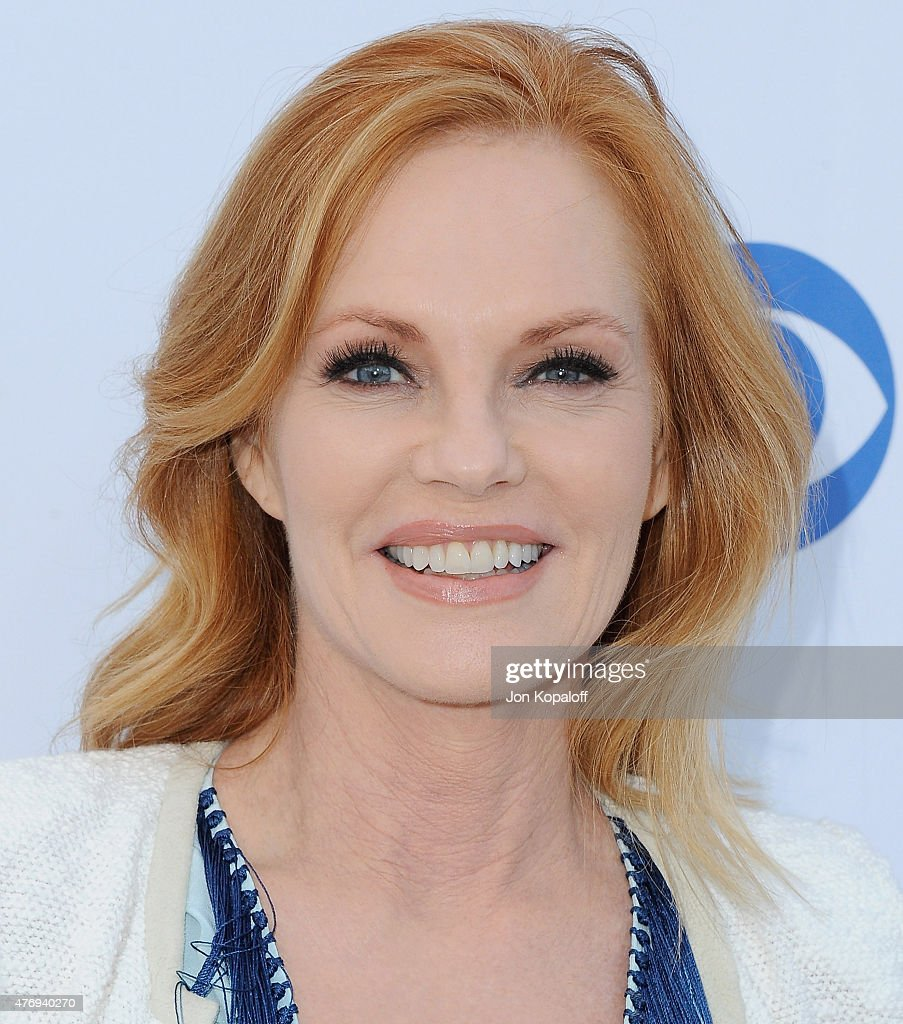 Actress Marg Helgenberger arrives at CBS Television Studios 3rd Annual Summer Soiree Party at The London Hotel on May 18, 2015 in West Hollywood, California.