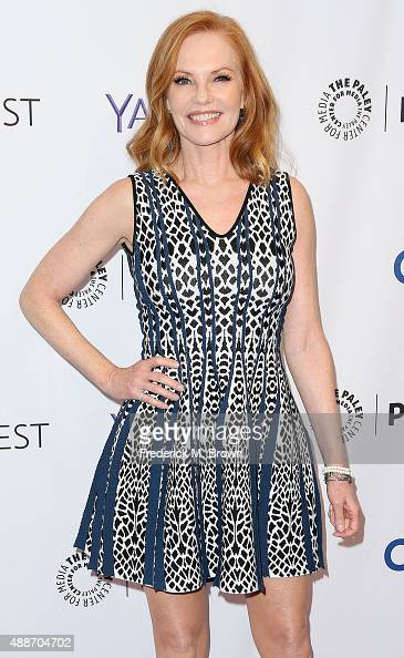 Actress Marg Helgenberger attends The Paley Center for Media's PaleyFest 2015 Fall TV Preview 'CSI' Farewell Salute at The Paley Center for Media on...