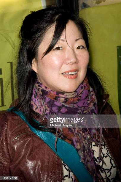 Actress Margaret Cho arrives at the 'I Am Comic' Los Angeles Premiere at the Silent Movie Theatre on February 8 2010 in Los Angeles California