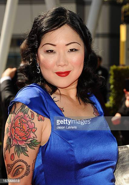 Actress Margaret Cho attends the 2012 Primetime Creative Arts Emmy Awards at Nokia Theatre LA Live on September 15 2012 in Los Angeles California