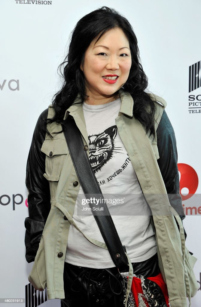 Actress <a gi-track='captionPersonalityLinkClicked' href=/galleries/search?phrase=Margaret+Cho&family=editorial&specificpeople=216403 ng-click='$event.stopPropagation()'>Margaret Cho</a> attends the 'Drop Dead Diva' final season premiere party on March 23, 2014 in West Hollywood, California.