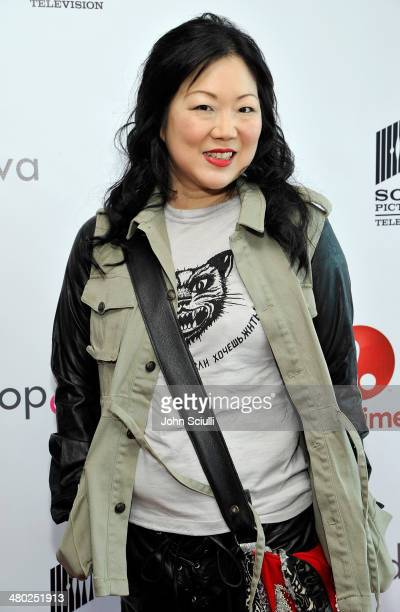 Actress Margaret Cho attends the 'Drop Dead Diva' final season premiere party on March 23 2014 in West Hollywood California