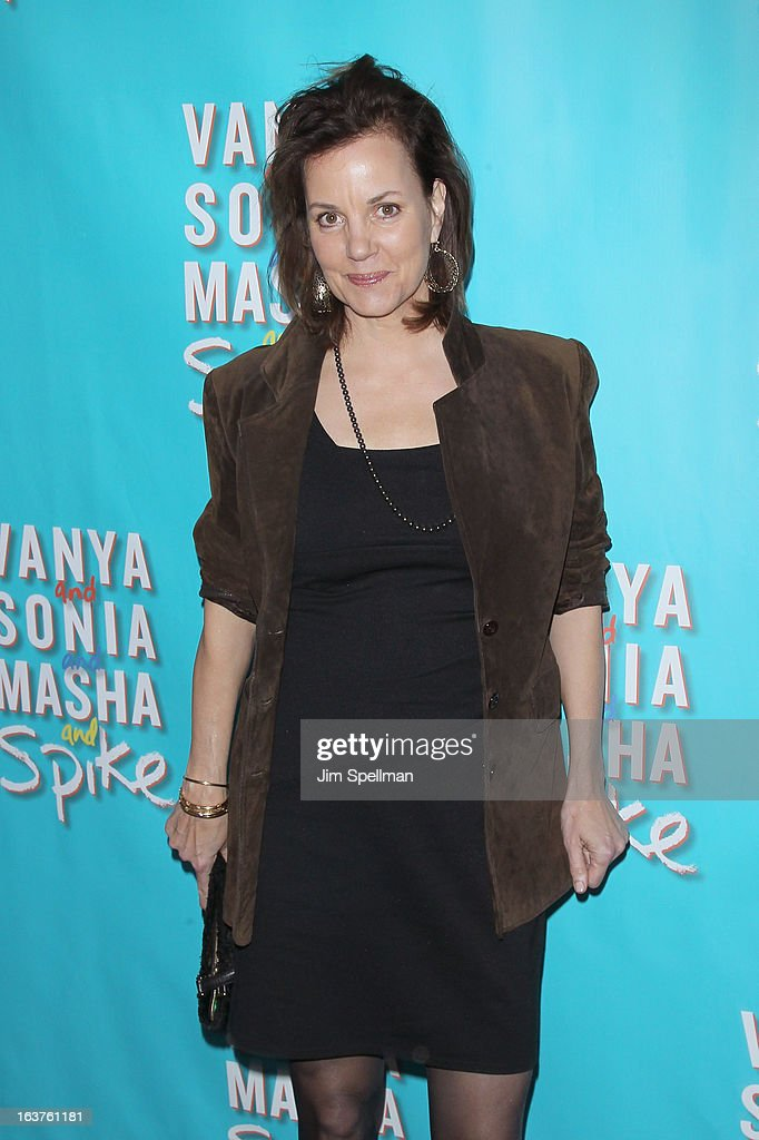 Actress <a gi-track='captionPersonalityLinkClicked' href=/galleries/search?phrase=Margaret+Colin&family=editorial&specificpeople=960975 ng-click='$event.stopPropagation()'>Margaret Colin</a> attends the 'Vanya And Sonia And Masha And Spike' Broadway opening night at The Golden Theatre on March 14, 2013 in New York City.