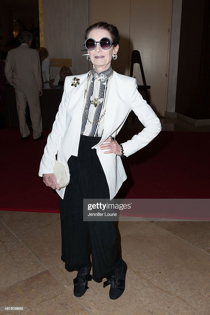 Actress Margaret O'Brien arrives at the Professional Dancers Society's 27th Annual Gypsy Award Luncheon hosted at The Beverly Hilton Hotel on March 30, 2014 in Beverly Hills, California.