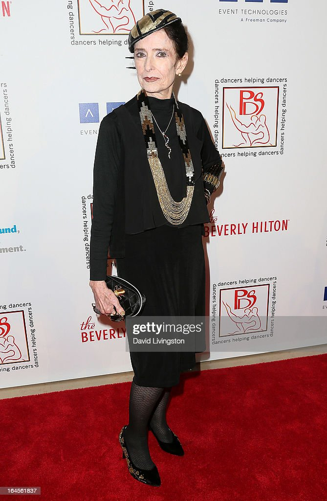 Actress Margaret O'Brien attends the Professional Dancers Society's Gypsy Awards Luncheon at The Beverly Hilton Hotel on March 24, 2013 in Beverly Hills, California.