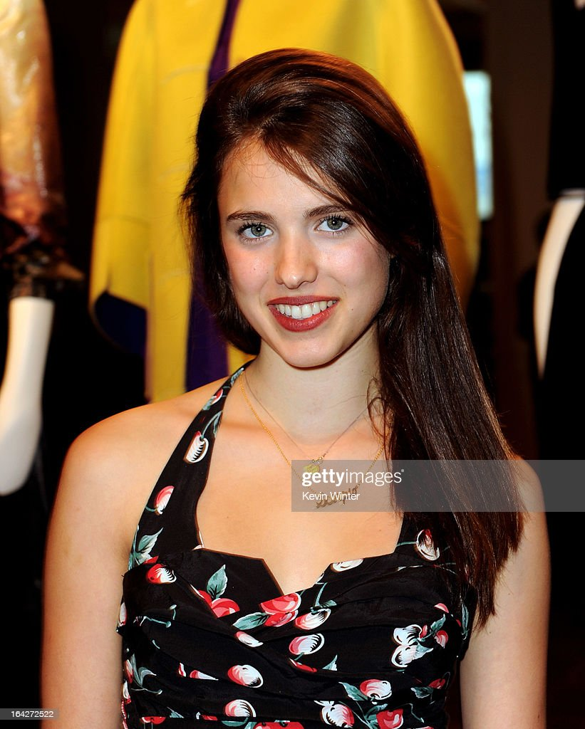 Actress Margaret Qualley arrives at 'An Evening' benifiting The L.A. Gay & Lesbian Center at the Beverly Wilshire Hotel on March 21, 2013 in Beverly Hills, California.