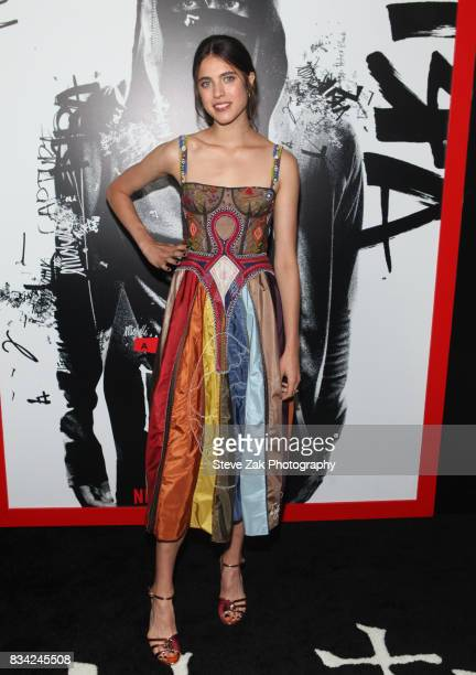 Actress Margaret Qualley attends 'Death Note' New York premiere at AMC Loews Lincoln Square 13 theater on August 17 2017 in New York City