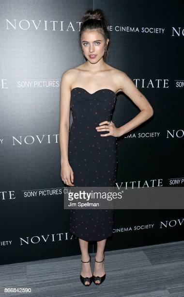 Actress Margaret Qualley attends the screening of Sony Pictures Classics' 'Novitiate' hosted by Miu Miu and The Cinema Society at The Landmark at 57...