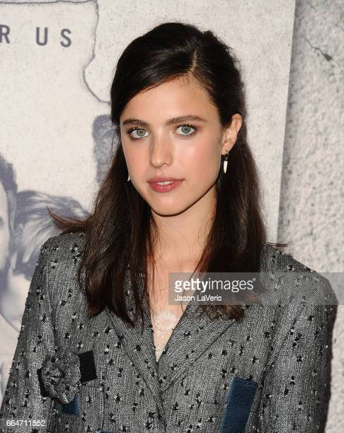 Actress Margaret Qualley attends the season 3 premiere of 'The Leftovers' at Avalon Hollywood on April 4 2017 in Los Angeles California