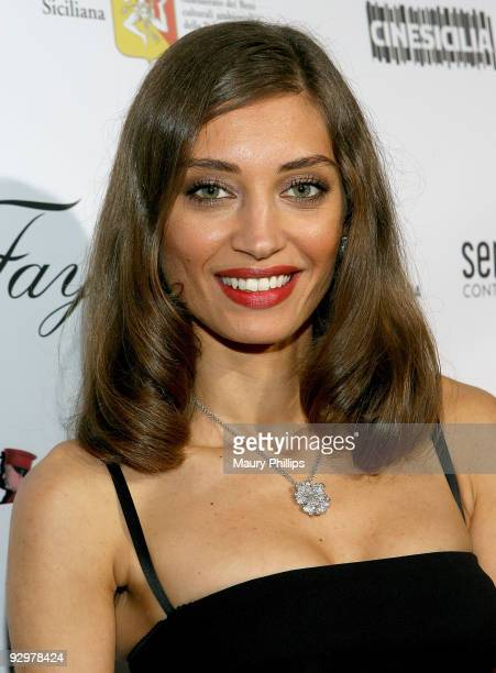 Actress Margareth Made arrives at 'Baaria' Opens Cinema Italian Style at The Egyptian Theatre on November 10 2009 in Hollywood California
