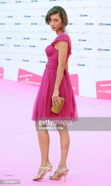 Actress Margareth Made attends the 'Il Paese delle Piccole Piogge' premiere during the 2012 RomaFictionFest at Auditorium Parco della Musica on...