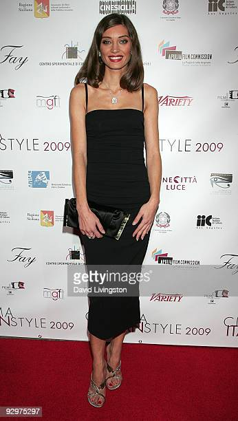 Actress Margareth Made attends the opening night of Cinema Italian Style 2009 and US premiere of 'Baaria' at the Egyptian Theatre on November 10 2009...