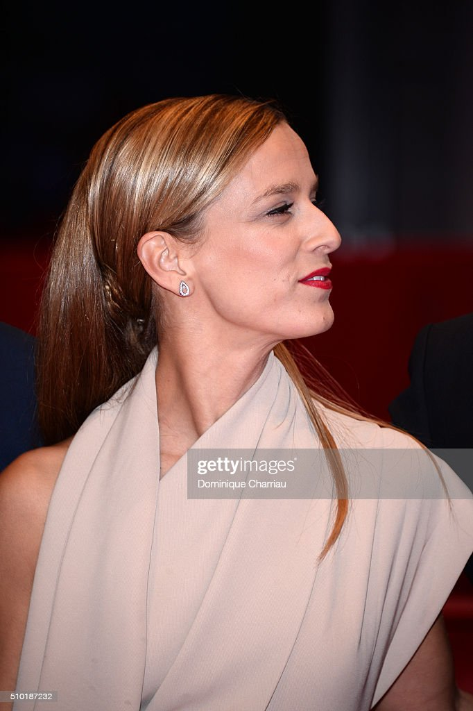 Actress Margarida Vila-Nova attends the 'Letters from War' (Cartas da guerra) premiere during the 66th Berlinale International Film Festival Berlin at Berlinale Palace on February 14, 2016 in Berlin, Germany.