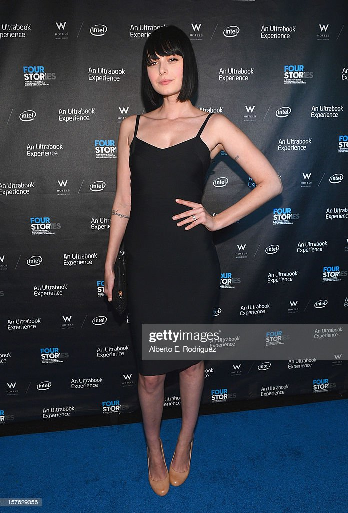 Actress Margarita Kallas arrives to the after party for the premiere of 'Four Stories' at The W Hotel on December 4, 2012 in Westwood, California.