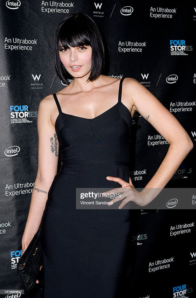 Actress Margarita Kallas attends the Los Angeles Premiere of 'Four Stories' at W Westwood on December 4, 2012 in Westwood, California.