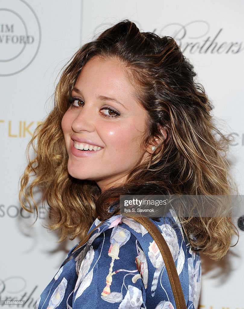 Actress Margarita Leveiva attends The Cinema Society & Brooks Brothers Host A Screening Of Lionsgate And Roadside Attractions' 'Girl Most Likely's at Landmark Sunshine Cinema on July 15, 2013 in New York City.