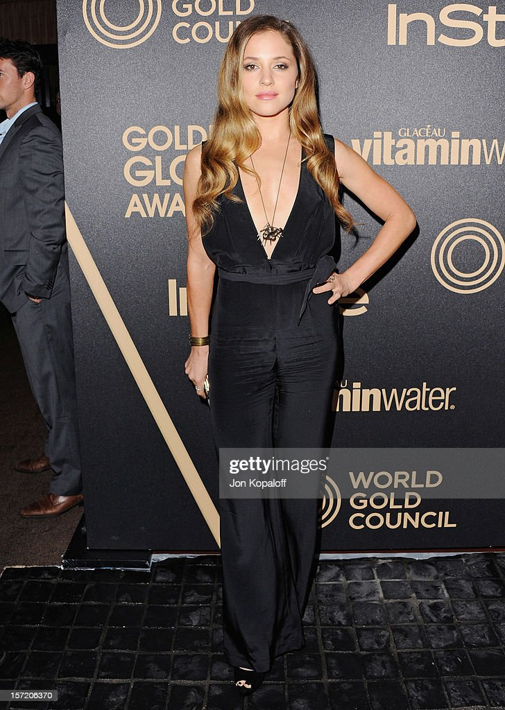 Actress Margarita Levieva arrives at The Hollywood Foreign Press Association And InStyle Miss Golden Globe 2013 Party at Cecconi's Restaurant on November 29, 2012 in Los Angeles, California.
