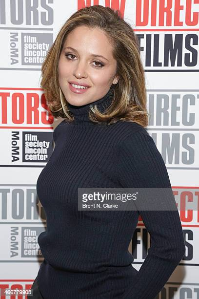 Actress Margarita Levieva arrives for the 2015 New Directors New Films Opening Night Gala at The Museum of Modern Art on March 18 2015 in New York...