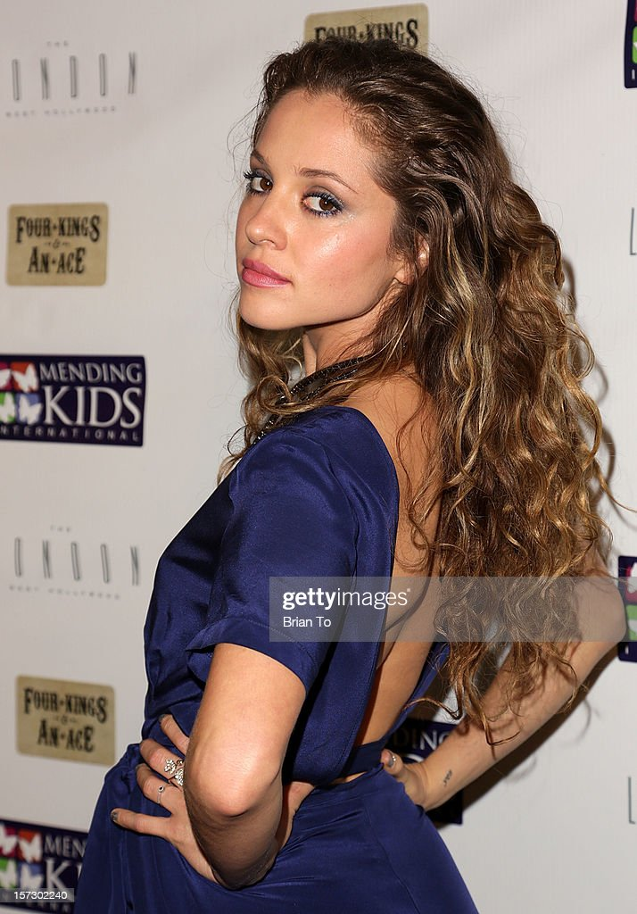 Actress Margarita Levieva attends Mending Kids International celebrity poker tournament at The London Hotel on December 1, 2012 in West Hollywood, California.