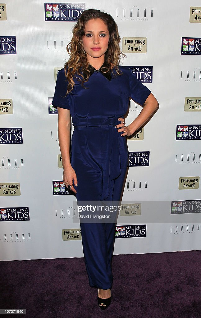 Actress Margarita Levieva attends Mending Kids International's 'Four Kings & An Ace' Celebrity Poker Tournament at The London Hotel on December 1, 2012 in West Hollywood, California.