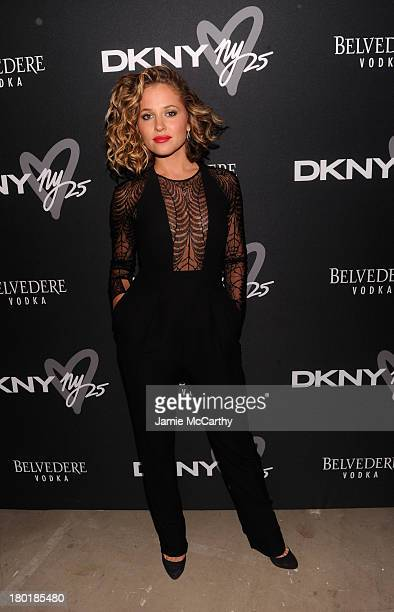 Actress Margarita Levieva attends the #DKNY25 Birthday Bash on September 9 2013 in New York City