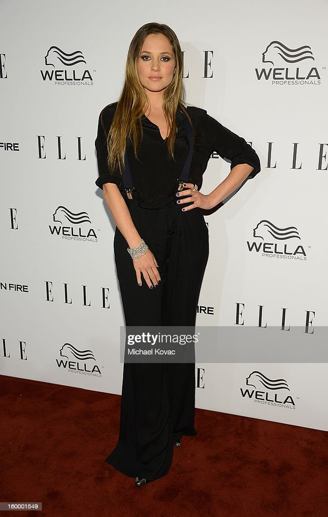 Actress Margarita Levieva attends the ELLE's Women in Television Celebration at Soho House on January 24, 2013 in West Hollywood, California.