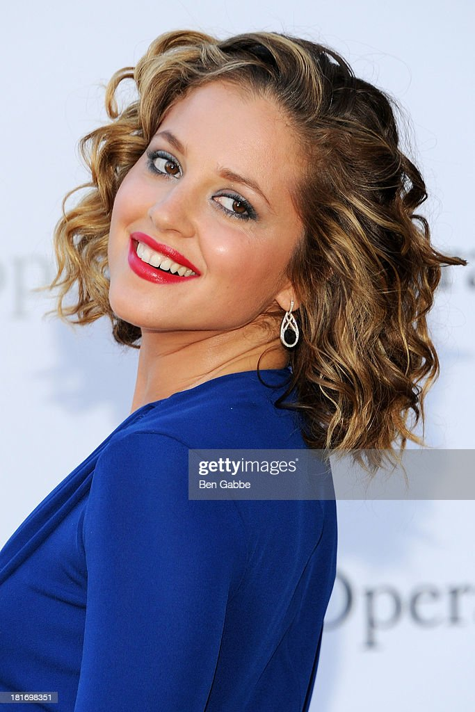 Actress Margarita Levieva attends the Metropolitan Opera season opening production of 'Eugene Onegin' at The Metropolitan Opera House on September 23, 2013 in New York City.