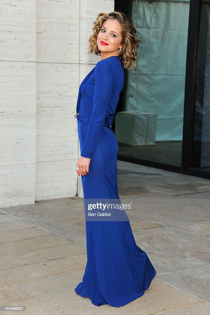 Actress Margarita Levieva attends the Metropolitan Opera season opening production of 'Eugene Onegin' at The Metropolitan Opera House on September 23, 2013 in New York City.