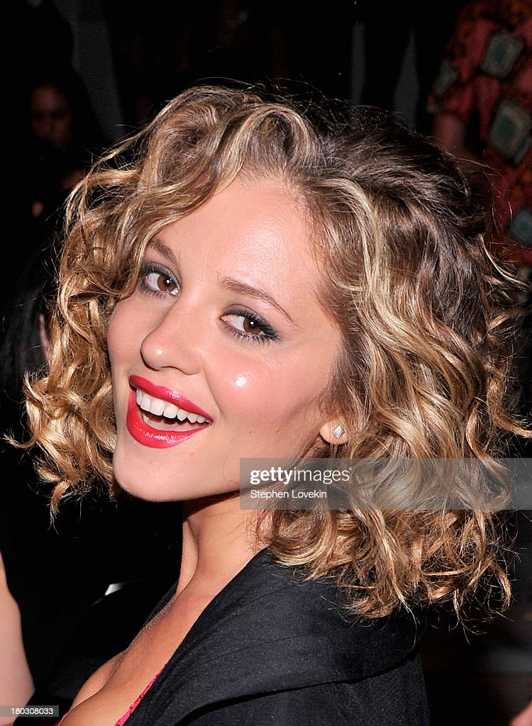 Actress Margarita Levieva attends the Nanette Lepore fashion show during Mercedes-Benz Fashion Week Spring 2014 at The Stage at Lincoln Center on September 11, 2013 in New York City.