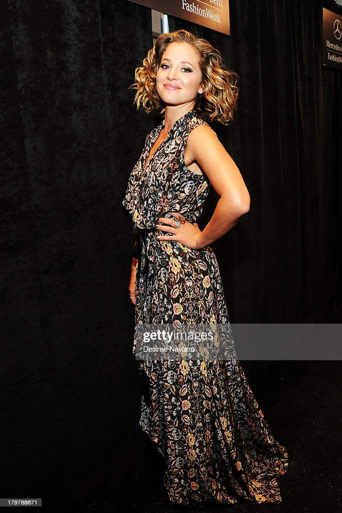 Actress <a gi-track='captionPersonalityLinkClicked' href=/galleries/search?phrase=Margarita+Levieva&family=editorial&specificpeople=630349 ng-click='$event.stopPropagation()'>Margarita Levieva</a> attends the Nicole Miller show during Spring 2014 Mercedes-Benz Fashion Week at The Studio at Lincoln Center on September 6, 2013 in New York City.