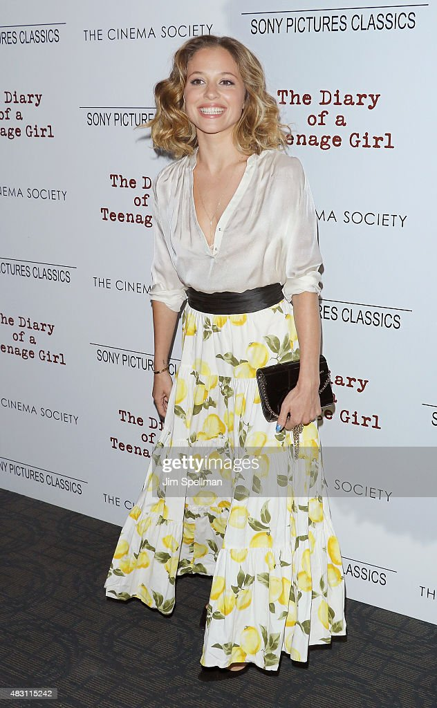 Actress Margarita Levieva attends the Sony Pictures Classics with The Cinema Society host a screening of 'The Diary Of A Teenage Girl' at Landmark's Sunshine Cinema on August 5, 2015 in New York City.