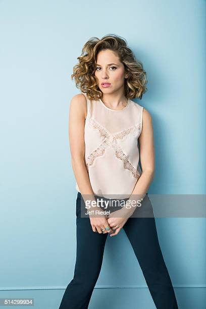 Actress Margarita Levieva is photographed for TV Guide Magazine on January 16 2015 in Pasadena California