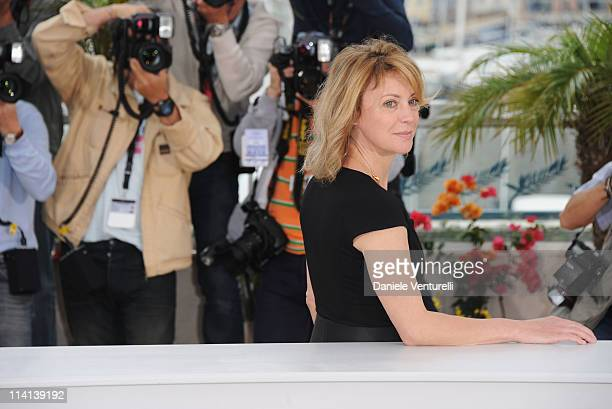 Actress Margherita Buy attends the 'Habemus Papam' Photocall during the 64th Annual Cannes Film Festival at the Palais des Festivals on May 13 2011...