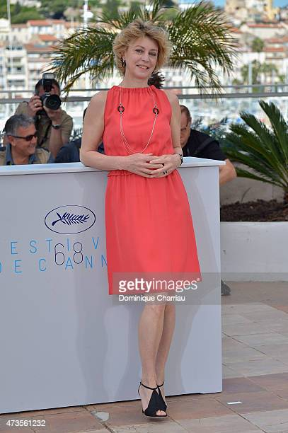 Actress Margherita Buy attends the 'Mia Madre' Photocall during the 68th annual Cannes Film Festival on May 16 2015 in Cannes France