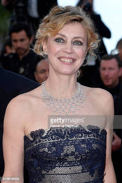 Actress Margherita Buy attends the Premiere of 'Mia Madre' during the 68th annual Cannes Film Festival on May 16 2015 in Cannes France