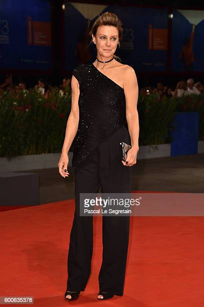 Actress Margherita Buy attends the premiere of 'Questi Giorni' during the 73rd Venice Film Festival at Sala Grande on September 8 2016 in Venice Italy