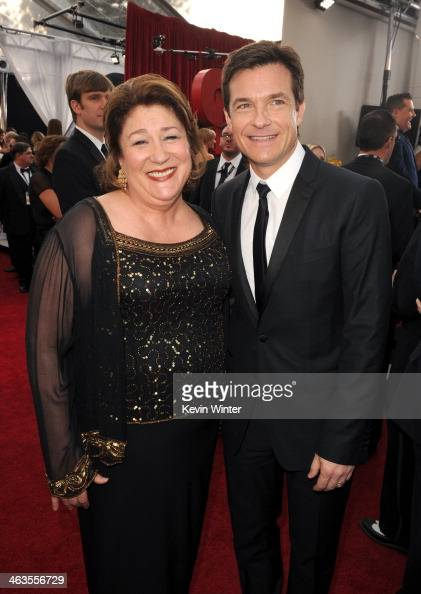 Actress Margo Martindale and actor Jason Bateman attend 20th Annual Screen Actors Guild Awards at The Shrine Auditorium on January 18 2014 in Los...