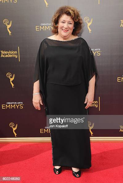 Actress Margo Martindale arrives at the 2016 Creative Arts Emmy Awards at Microsoft Theater on September 10 2016 in Los Angeles California