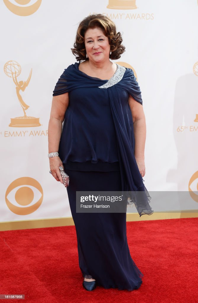 Actress Margo Martindale arrives at the 65th Annual Primetime Emmy Awards held at Nokia Theatre LA Live on September 22 2013 in Los Angeles California