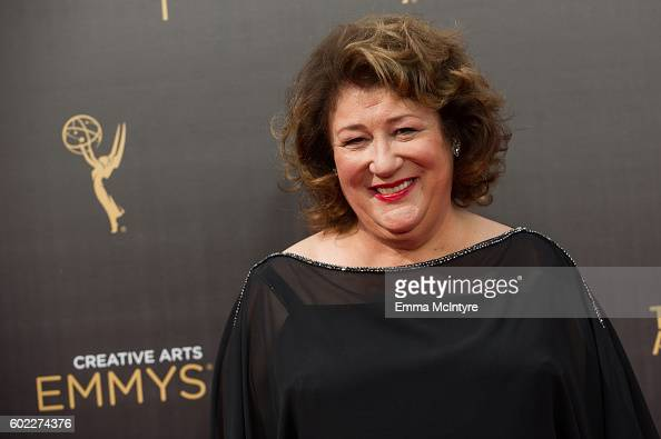 Actress Margo Martindale arrives at the Creative Arts Emmy Awards at Microsoft Theater on September 10 2016 in Los Angeles California