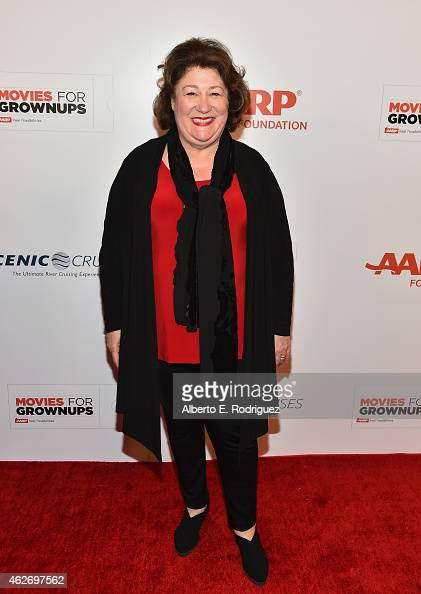 Actress Margo Martindale arrives to AARP The Magazine's 14th Annual Movies For Grownups Awards Gala at the Beverly Wilshire Four Seasons Hotel on...