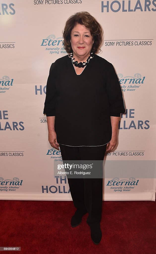 Actress Margo Martindale attends a Los Angeles Special Presentation of Sony Pictures Classics' 'The Hollars' at Linwood Dunn Theater on August 22...