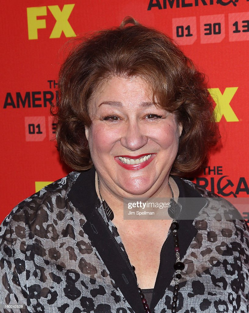 Actress Margo Martindale attends FX's 'The Americans' Season One New York Premiere at DGA Theater on January 26, 2013 in New York City.