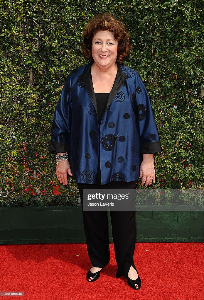 Actress <a gi-track='captionPersonalityLinkClicked' href=/galleries/search?phrase=Margo+Martindale&family=editorial&specificpeople=2649306 ng-click='$event.stopPropagation()'>Margo Martindale</a> attends the 2015 Creative Arts Emmy Awards at Microsoft Theater on September 12, 2015 in Los Angeles, California.