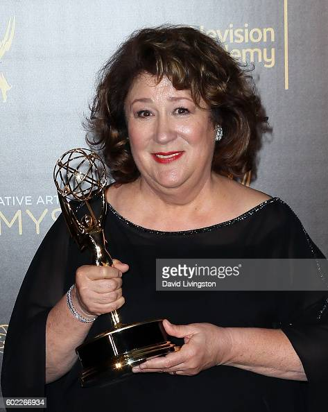 Actress Margo Martindale attends the 2016 Creative Arts Emmy Awards Press Room Day 1 at the Microsoft Theater on September 10 2016 in Los Angeles...