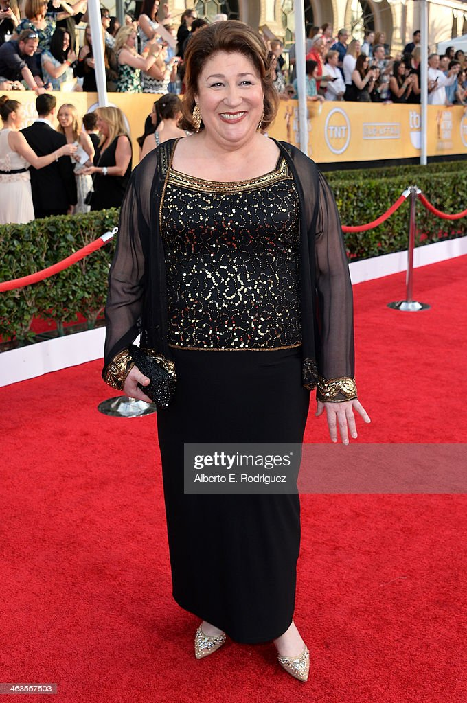 Actress Margo Martindale attends the 20th Annual Screen Actors Guild Awards at The Shrine Auditorium on January 18 2014 in Los Angeles California