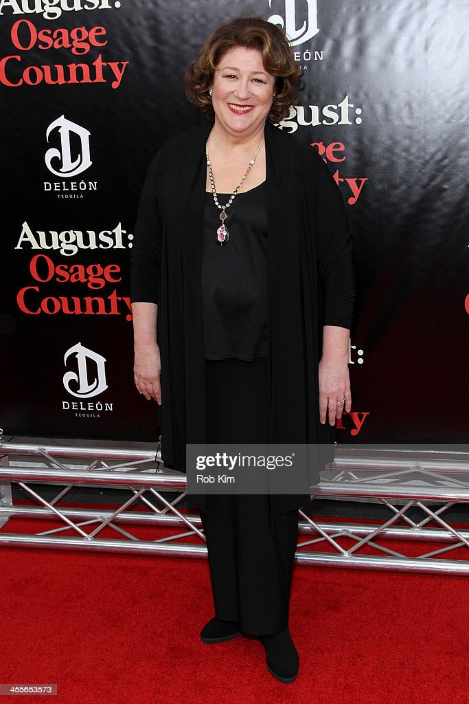Actress Margo Martindale attends the premiere of AUGUSTOSAGE COUNTY presented by The Weinstein Company with DeLeon Tequila on December 12 2013 in New...
